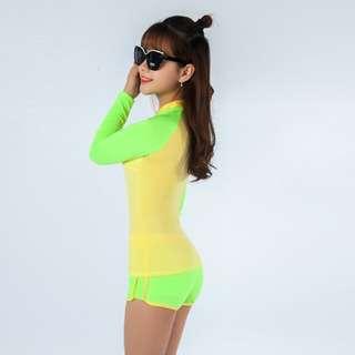 $22 BN Long Sleeves Swimwear