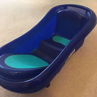 Blue Baby Bath Tub
