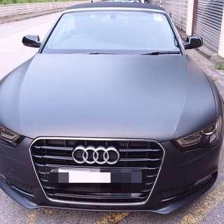2013 Audi A5 1.8T CABRIO