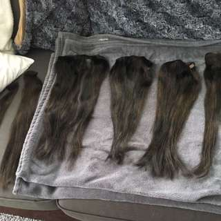 """Hair extensions 18"""""""