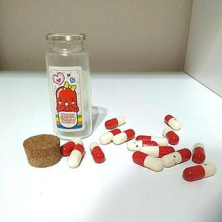 BRAND NEW HAPPY LOVE LETTER CAPSULE PILLS (write A Secret Love Letter And Put In Inside Each PILLS To Suprise Him/Her!!!