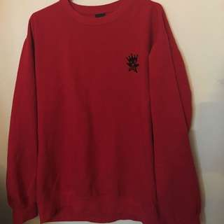 XL Obey Red Hoodie