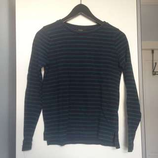 F21 Striped Long Sleeve