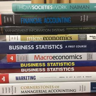 RYERSON UNIVERSITY TEXTBOOKS