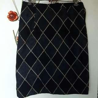 Vintage Look Pencil Skirt