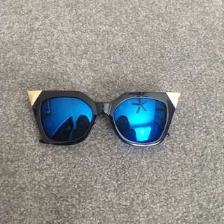 Blue And Gold Sunnies