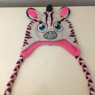 Justice Zebra Hat