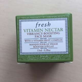 Fresh Vitamin Nectar Face Mask