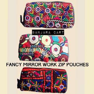 Vintage Multicoloured HandMade Pouch/Wallet