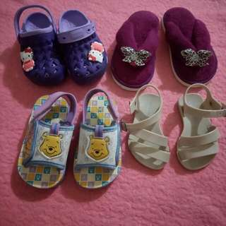 **REPRICED** Preloved Baby Slippers