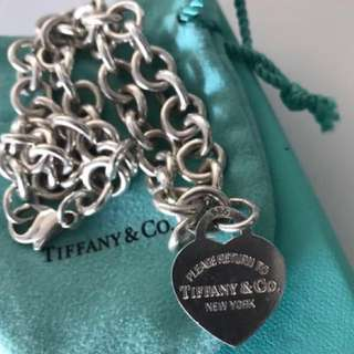 Tiffany&Co Heart Tag Necklace