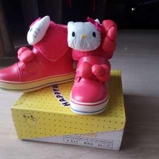 Sepatu Red HELLO KITTY