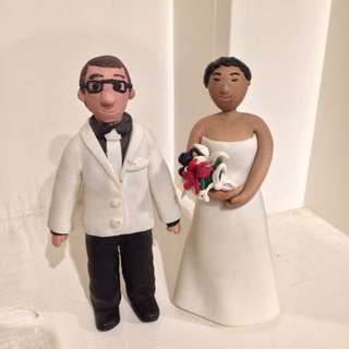 Personalised Wedding Toppers! Handmade