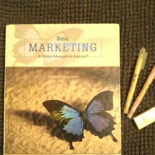 Basic Marketing A Global- Managerial Approach