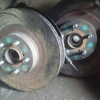 BRAKE CALIPER 4POT 2POT SUBARU FOR TOYOTA CALDINA WISH