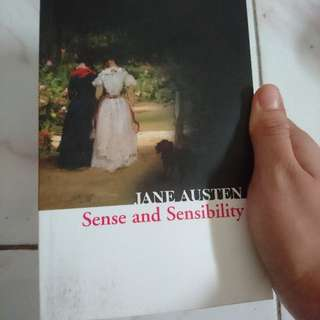 Sense And Sensibility Book By Jane Austen