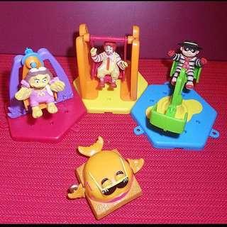 麥當勞舊玩具