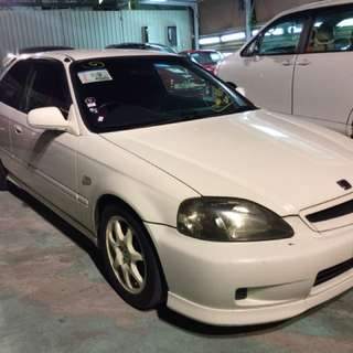 HONDA CIVIC TYPE R  Month / Year:02.1998  Color:WHITE  Mileage:*** km Displacement:1.6L  Steering:Right  Transmission:MT  Fuel:GASOLINE  Drive:2WD  Doors:3D  Repaired:Yes  Chassis No:EK9-100****  Model code:EK9