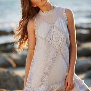 (ask For Pic) Free People Angel Lace Dress