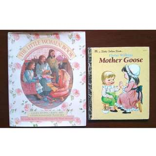 REPRICED! Old-fashioned children's books - Little Women & Nursery Rhymes