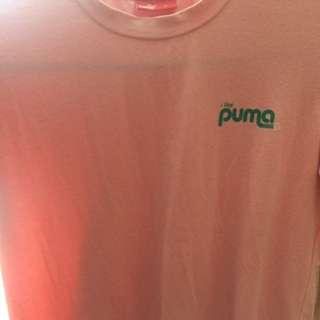 Baby Pink Puma Shirt