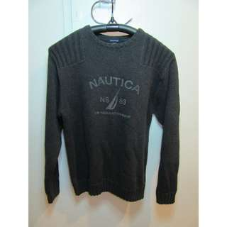 NAUTICA SWEATER THICK AND HEAVY SIZE XL