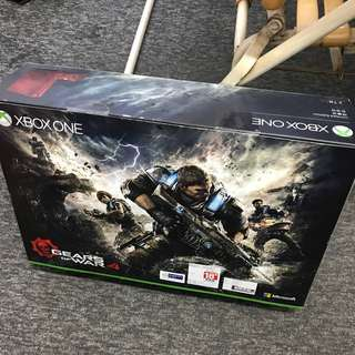 Pre-loved limited edition Xbox one 2T
