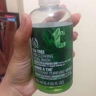 Tee Tree Facial Wash