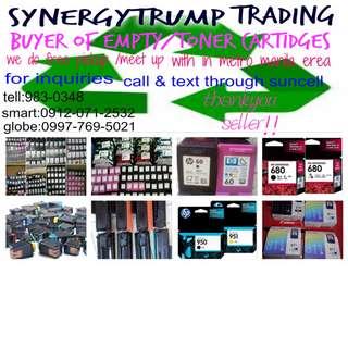 buyer of empty ink toner brand new unsealed cartridges