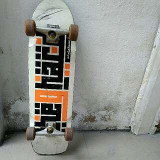 The G Hard Skateboard Pool / Cruiser Completes