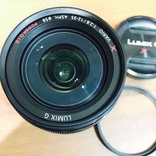 Panasonic Lumix G 12-35mm F2.8 恆定光圈 變焦 鏡頭