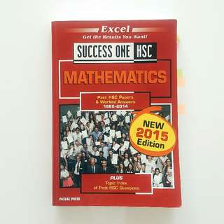 HSC Maths 2U Success One