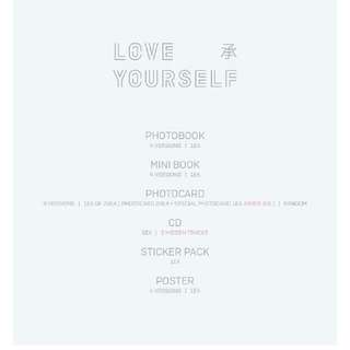 BTS LOVE YOURSELF ALBUM