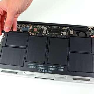 MacBook Air battery replacement