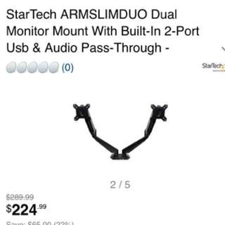 **NEW** Dual Monitor Mount