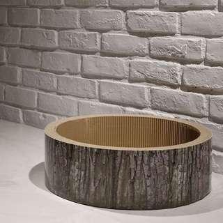 """""""Log"""" Cat Scratching Corrugated Board / Bed"""