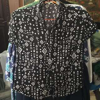 COLORBOX pattern shirt
