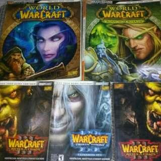 World Warcraft Books