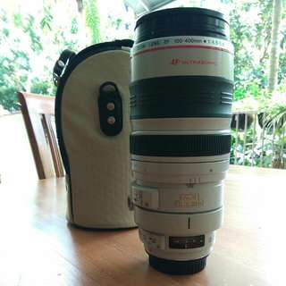 Used Canon EF 100-400mm/4.5-5.6 L Lens