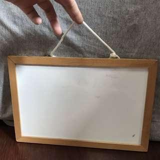 實用木框小白版