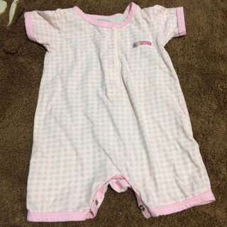 Checkered Baby Jumpsuit