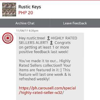 Rustic Keys made it to the top 🏆