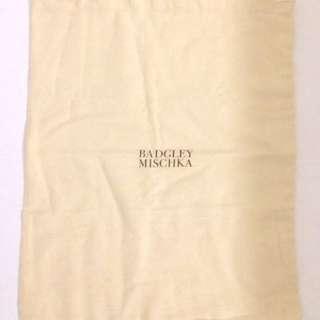 Authentic Badgely Mischka Dustbag