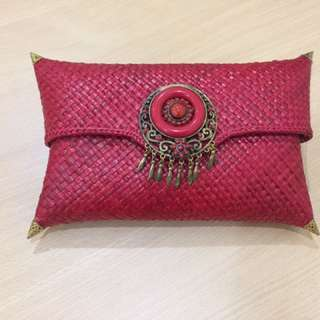 New Red Clutch