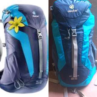 Original Deuter Hiking Bag 22 ac lite