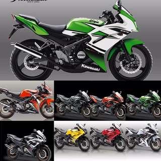 Kawasaki RR indon Set Complete Original