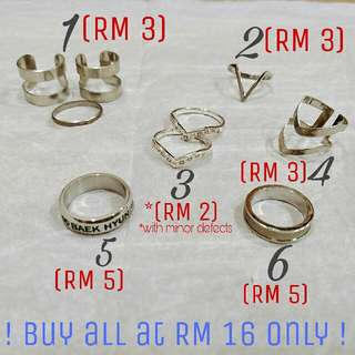 [CLEARANCE] Rings Bundle
