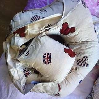 Unused baby nursing & feeding cushion (mickey pattern)