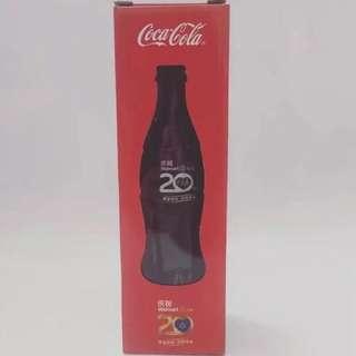中國沃爾瑪20週年可口可樂紀念樽