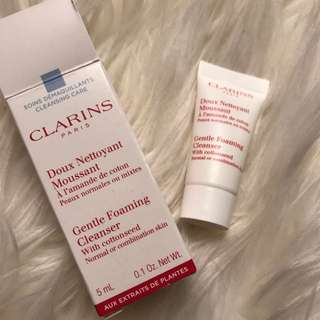 Clarins Gentle Foaming Cleanser!!